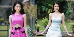 Á hậu Thùy Dung khoe vẻ quyến rũ đẹp 'không góc chết'