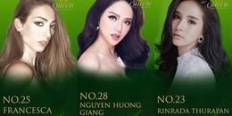 Vượt chủ nhà, Hương Giang Idol xuất sắc dẫn đầu bình chọn ở Hoa hậu Chuyển giới 2018