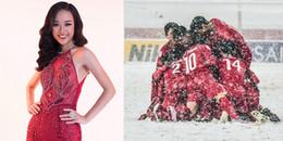 Người đẹp Tài năng của Hoa hậu Hoàn vũ Việt Nam bị 'ném đá' vì hả hê kết quả U23