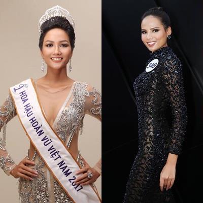 Phản ứng của các thí sinh về chiến thắng của tân Hoa hậu Hoàn vũ Việt Nam H'Hen Niê
