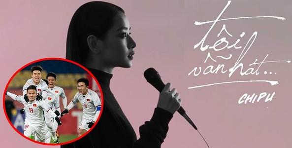 Cả nước sôi sục bóng đá, Chi Pu vẫn tung ca khúc thứ 5 của mình để nhắc nhẹ: 'Tôi vẫn hát'