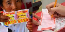 Dân Sài Gòn đổ xô mua vé số cầu mong Thần Tài gõ cửa đầu năm mới