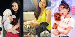 """Năm Mậu Tuất, cùng điểm danh những sao Việt cưng cún như """"báu vật"""""""
