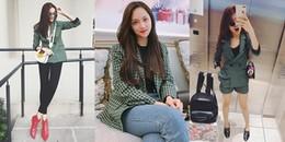 Chưa dự thi Hoa hậu Chuyển giới, Hương Giang Idol đã 'đụng hàng' với mỹ nhân Việt