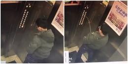 Cậu bé nghịch dại giải quyết 'nỗi buồn' lên thang máy nào ngờ tự mình làm kẹt luôn bên trong