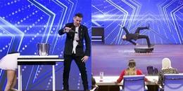 Màn ảo thuật ảo nhất Got Talent: ảo thuật gia ngồi lơ lửng trên không bên cạnh cô gái mất nửa cơ thể