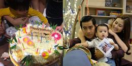 yan.vn - tin sao, ngôi sao - Con trai được 1 tuổi, vợ chồng