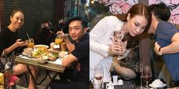 Cường Đôla lần đầu tiên công khai ảnh chụp cùng Đàm Thu Trang trên trang cá nhân