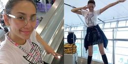 Võ Hoàng Yến thon gọn đến kinh ngạc, lên đường tham dự New York Fashion Week 2018