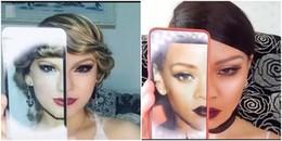 Cô gái có khả năng 'biến hóa' từ Taylor Swift đến Rihanna, tất cả chỉ bằng vài đường cọ