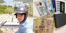 Du khách Hàn Quốc xúc động khi nhận lại ví từ chàng trai Việt