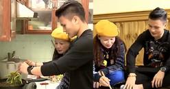 Người hùng Quang Hải trổ tài đi chợ nấu ăn cho mẹ nhân dịp Tết