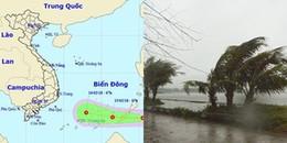 Bão Sanba đã suy yếu thành áp thấp nhiệt đới ngày 29 Tết nguyên Đán 2018