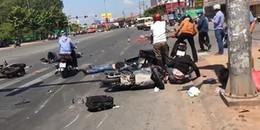 Nguyên nhân ban đầu vụ xe khách bất ngờ tông từ phía sau khiến nhiều người bị thương nằm la liệt