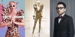 Katy Perry lại diện thiết kế mới của NTK Công Trí để quảng bá show diễn