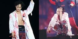 yan.vn - tin sao, ngôi sao - Xót xa cảnh G-Dragon tiều tụy như bộ xương khô, gần như ngất đi trong hậu trường concert