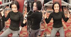 Diện trang phục kín bưng nhưngĐóa Nhi vẫn sexy đến 'nghẹt thở' khi bị tán tỉnh tại phòng gym