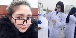 Cận cảnh nhan sắc nữ sinh Y Dược xinh đẹp khoe ảnh vào phòng thí nghiệm gây 'sốt' MXH