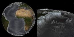 Trái đất trông như thế nào nếu các đại dương bị hút cạn nước?
