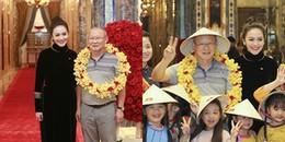 Vợ đại gia Thanh Bùi đón tiếp U23 Việt Nam tại khách sạn sang trọng của gia đình