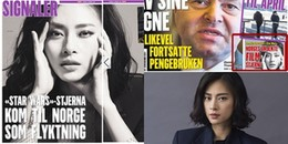 Ngô Thanh Vân xuất hiện chễm chệ trên tạp chí lớn của Na Uy