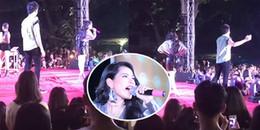 Phản ứng 'chữa cháy' bất ngờ của Chi Pu khi lộ hát nhép trên sân khấu