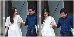 Hoa hậu Đặng Thu Thảo đi khám thai cùng ông xã đại gia ngay ngày đầu Xuân