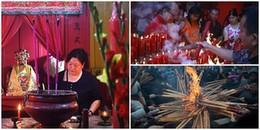 Khắp châu Á nô nức đi lễ chùa đầu năm cầu cho năm mới bình an, hạnh phúc