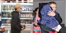 Lưu Khải Uy và con gái lủi thủi một mình dịp Tết, Dương Mịch lại bị C-net chỉ trích