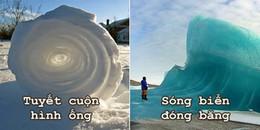 Thích thú với 7 hiện tượng lạ chỉ xuất hiện khi trời cực lạnh