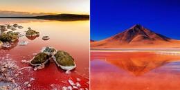 Khám phá những vùng nước đỏ như máu kỳ lạ trên thế giới