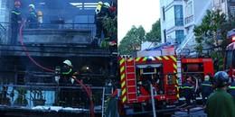 """Sài Gòn: """"Bà hỏa"""" viếng thăm, căn nhà 2 tầng bị thiêu rụi sáng mùng 5 Tết"""