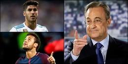 Chủ tịch Perez 'đá xoáy' Neymar, ra giá Marcos Asensio lên đến 700 triệu Euro