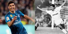 Marco Asensio và 5 cột mốc đáng nhớ trong lịch sử của Real Madrid