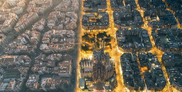 Cảnh tượng hiếm thấy tại Barcelona - nơi giao thoa giữa ngày và đêm trên Trái Đất