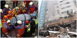 Cảm động cặp đôi đến chết vẫn ôm chặt nhau không rời trong trận động đất kinh hoàng tại Đài Loan