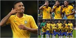 Nóng: Hé lộ hàng công 'cực khủng' của đội tuyển Brazil chinh phục World Cup 2018