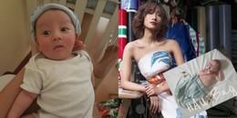 Cận cảnh vẻ đẹp lai Tây của con trai Trang Khiếu và bạn trai Tây