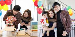 Vợ chồng Đan Trường tổ chức sinh nhật hoàng tráng cho con trai ở biệt thự triệu đô