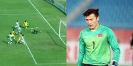Bùi Tiến Dũng xin lỗi sau sai lầm dẫn đến bàn thua đầu tiên của FLC Thanh Hóa