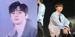 Muốn biết idol có thực sự đẹp trai hay không, cứ soi ảnh chụp cận mặt trong concert là biết