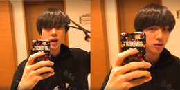 Jin (BTS) nhận kết đắng khi tự tay cắt tóc mái