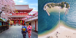 Những địa điểm du lịch nước ngoài siêu hấp dẫn cho kì nghỉ Tết Nguyên Đán 2018