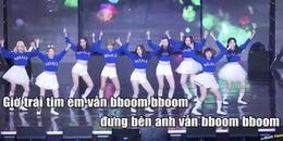Fan thích thú hát theo phiên bản lời Việt ca khúc 'BBoom BBoom' của Momoland