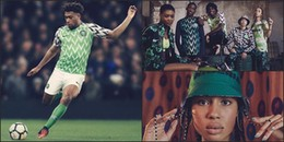Phát sốt với set đồ 'chất lừ' của đội tuyển Nigeria trước thềm Word Cup 2018