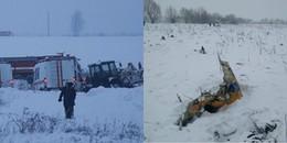 Bộ trưởng vận tải Nga tuyên bố máy bay chở 71 người gặp nạn: Khả năng có người còn sống là rất thấp