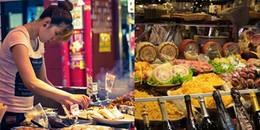 Thế giới ẩm thực đường phố của các trung tâm du lịch nổi tiếng thế giới