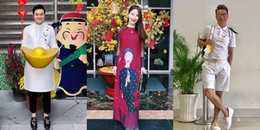 Sao Việt mặc gì để đi chúc Tết ngày đầu năm Mậu Tuất?