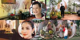 Sao Việt trang hoàng nhà cửa lung linh trước thời khắc giao thừa 2018