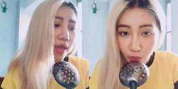 'Người lạ ơi' Orange gây sốt khi cover hit Hot Pink của EXID phiên bản vá múc canh